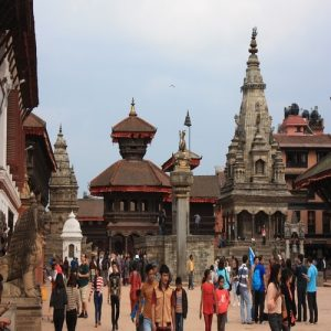 UNESCO world heritage Bhaktapur Durbar Square